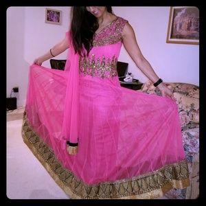 Anarkali Indian dress